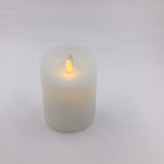 LED stearinlys 10 cm lille blafrende flamme tilbud