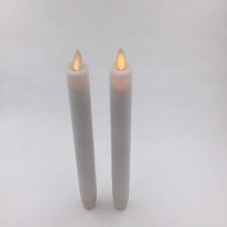 Led stagelys kronelys Kongsøre blafrende flamme tilbud