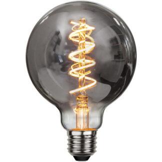 Røgfarvet LED globepære - 2100 Kelvin - Ra 90
