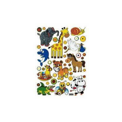 Stickers søde vilde dyr
