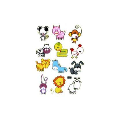 Stickers sjove dyr