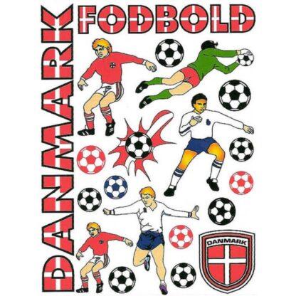 Stickers Danmark fodbold