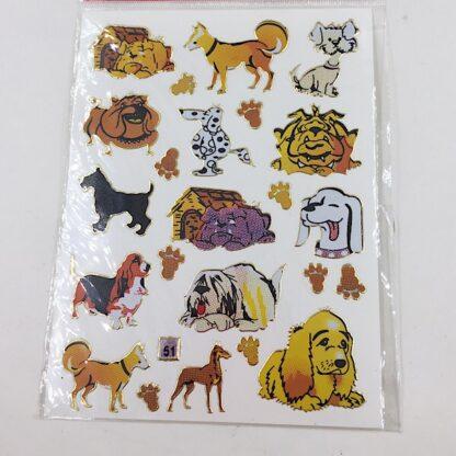 Stickers hund og hundehus