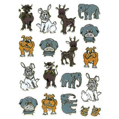 Stickers hunde og andre dyr