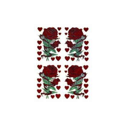 Stickers roser på stilk