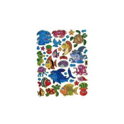 Stickers sjove fisk og hajer