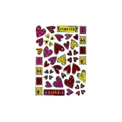 Stickers forever hjerter