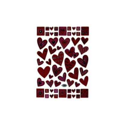 Stickers hjerter love