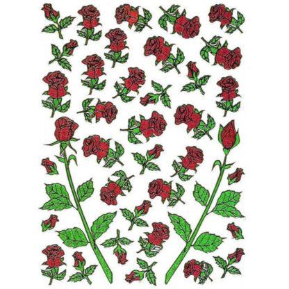 Sticker smukke roser