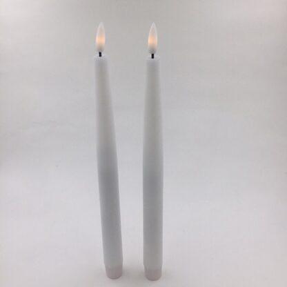 Real Flame Kronelys LED stearin Kongsøre tilbud