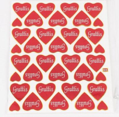 Stickers gratis hjerter