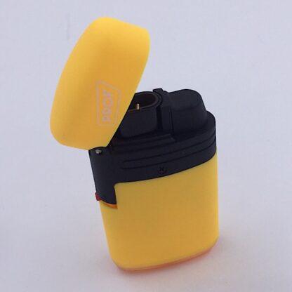 Stormlighter Jet med dobbelt flamme gul