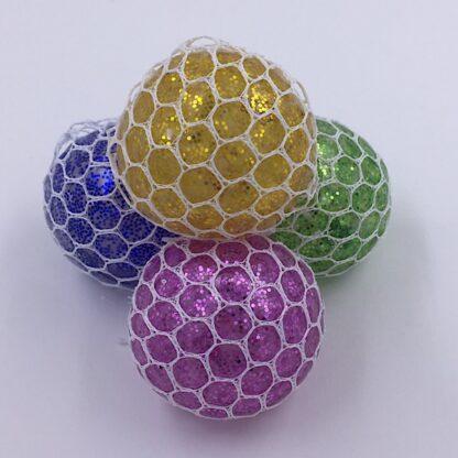 Stressbolde med vandperler og glimmer