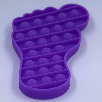 Pop it fødder Fidget Toy lilla Pop Fidget tilbud