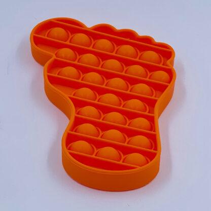 Pop it fødder Fidget Toy orange Pop Fidget tilbud