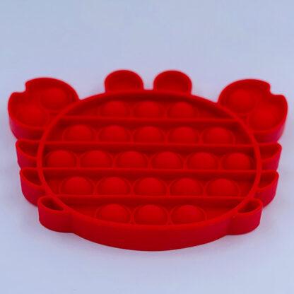 Pop it krabbe Fidget Toy rød Pop Fidget tilbud