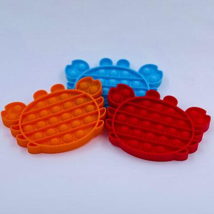 Pop it krabber Fidget Toy Pop Fidget tilbud