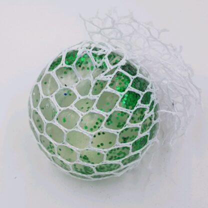 Stressbold vandperler glimmer grøn tilbud
